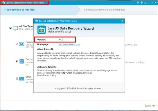 license code easeus data recovery wizard 11.0