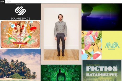 Looking for Design Inspiration? Here's a Tasty Design Search Engine: Niice | The Web Design Guide and Showcase | Scoop.it