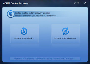 Come fare un backup completo di Windows con AOMEI OneKey Recovery | programmigratis | Scoop.it
