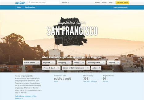 Airbnb Goes Hyperlocal | Hyperlocal and Local Media | Scoop.it