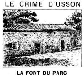 La Pissarderie: Le crime d'Usson (Vienne) - 1893 | GenealoNet | Scoop.it