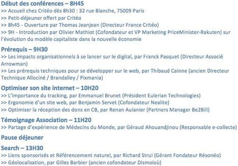 """conference """"le web qui s'engage bénévolement pour les assoc""""   La veille de generation en action sur la communication et le web 2.0   Scoop.it"""