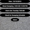 Sweeper Stopper Santa Ana Anroide Mobile App: When is Street Sweeping Scheduled?
