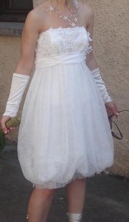 Robe de mariée courte taille 36 - Doubs | Robes de mariée d'occasion | Scoop.it