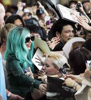 [Eng] Lady Gaga en visite pour l'événement du tsunami | The Japan Times Online | Japon : séisme, tsunami & conséquences | Scoop.it