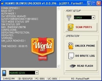 huawei blower unlocker v1.0.0.252
