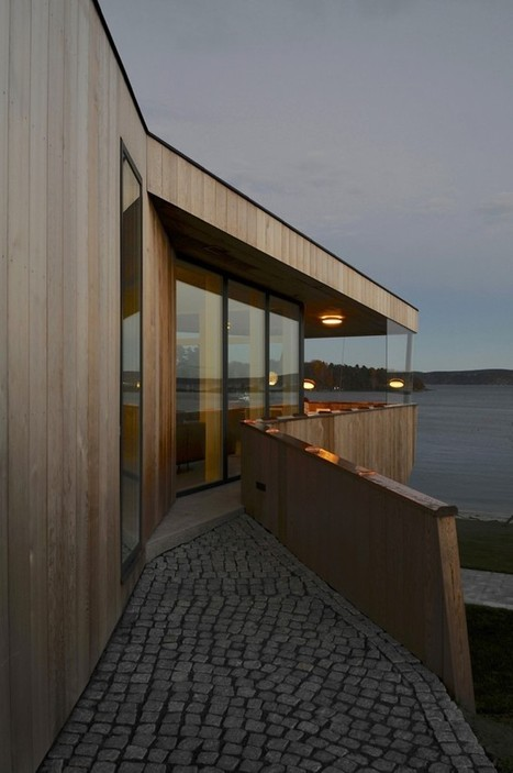 Partly Hidden Beach House with Unobstructed Sea Views in Norway | sustainable architecture | Scoop.it