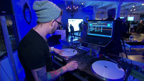 "DJ uses tech to ""see"" the music despite hearing loss 