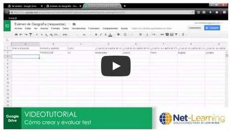 Cómo crear tests en Google Drive y corregirlos automáticamente | Recursos TIC | Scoop.it