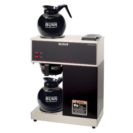 New deal product bunn 332000015 vpr 2gd 12 c new deal product bunn 332000015 vpr 2gd 12 cup pourover commercial coffee brewer with upper and lower warmers and two glass decanters black fandeluxe Images