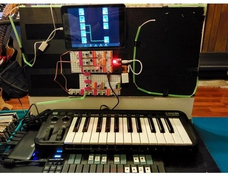 Arduino MIDI Synth with LFO, Portamento, and Pi