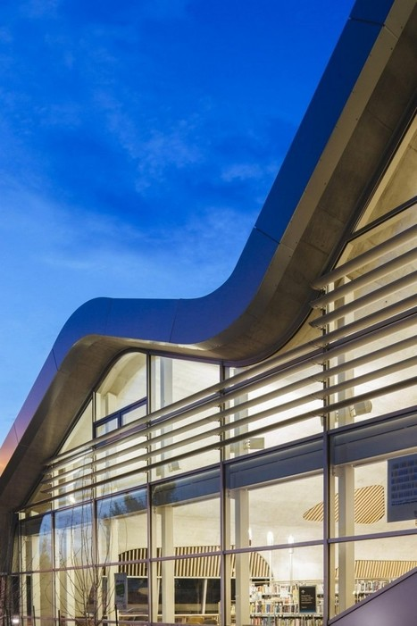 Futuristic Library Design Encouraging Social Interaction in Edmonton,Canada | Future Trends in Libraries | Scoop.it