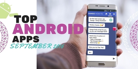 Top Android Apps September 2016 - Internetseekho | Latest Tech News and Tips | Scoop.it
