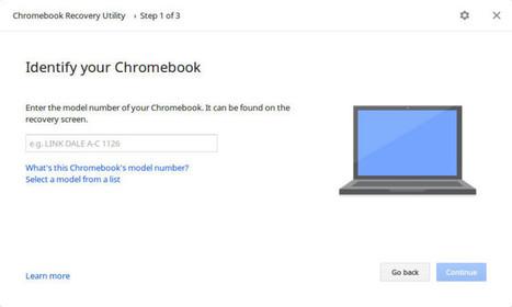 Google lance une nouvelle application de récupération de votre chromebook   Googland !!!   Google Chrome (FR)   Scoop.it