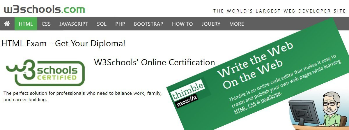 w3schools - complete tutorials for learnin