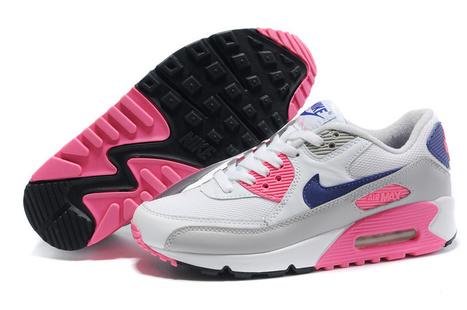 Nike Pink World 90 Fashion Max Air Womens White Blue' In nmyN80vwO
