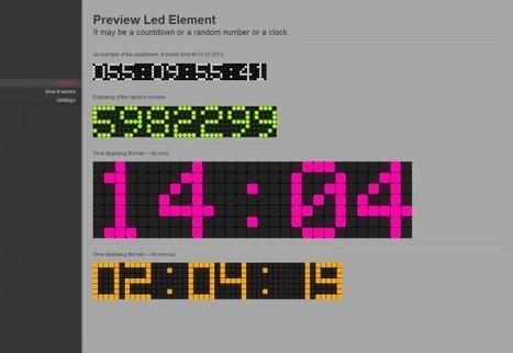 10 Fancy Countdown Templates That You Will Love | 7plusDezine | Web & Graphic Design | Scoop.it