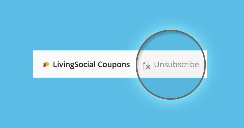 One click unsubscribe from junk email and conso one click unsubscribe from junk email and conso fandeluxe Image collections