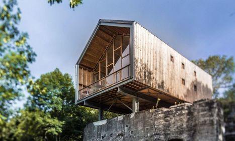 Surprenantes cabanes en bois | Dans l'actu | Doc' ESTP | Scoop.it