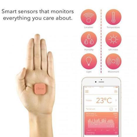 Monitorizando parámetros en casa con los pequeños sensores de Clime | Meetings, Tourism and  Technology | Scoop.it