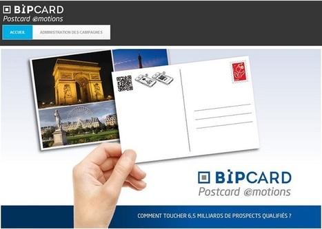 Bip card : et si vos cartes postales devenaient des outils de communication ? | Tourisme et marketing | Scoop.it