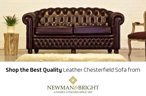 Shop the Best Quality Leather Chesterfield Sofa...