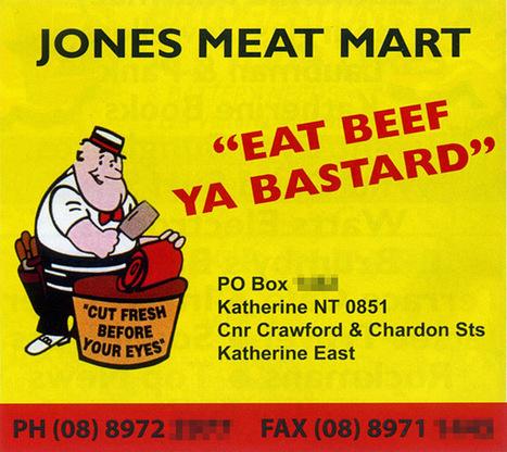 Tourists: 'Eat meat ya bastards!' | Australian Culture | Scoop.it