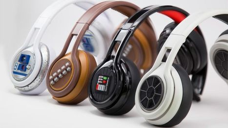 STYLISH NEW STAR WARS HEADPHONE | L'Empire du côté obscure | Scoop.it