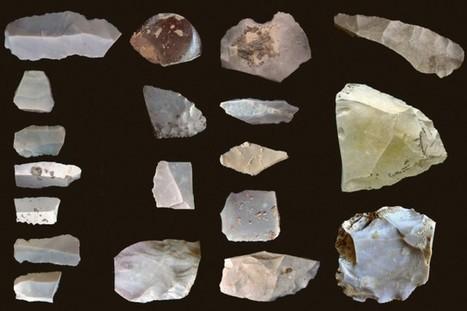 Préhistoire: la théorie sur l'évolution des outils de pierre en question | Découvertes | articles Préhistoire | Scoop.it