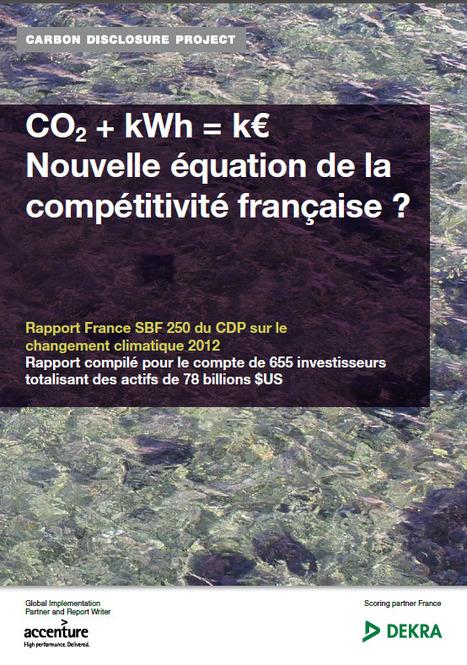 Moins de CO2, c'est bon pour ton bilan | great buzzness | Scoop.it