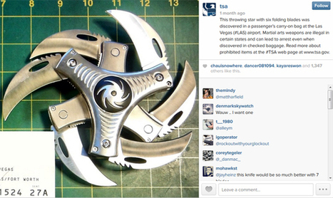 The TSA Displays Its Catches on Instagram - SocialTimes | Digital-News on Scoop.it today | Scoop.it