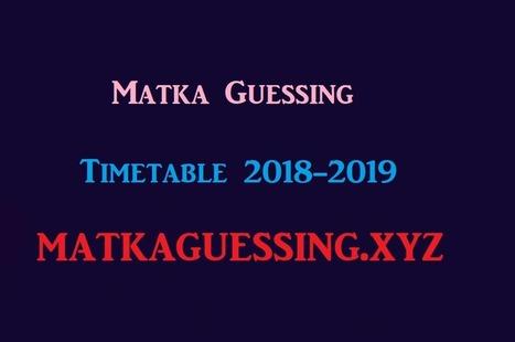 satta chart august 2019