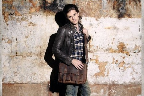 Sick leather cross body bags for men | Womens fashion | Scoop.it