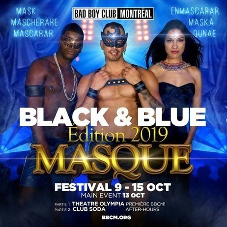 Black & Blue: Always an Exciting Festival in the Gay Village of Montreal Every Mid-October