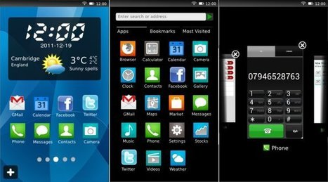 B2G (Boot to Gecko) Video Demo at MWC 2012 | Embedded Systems News | Scoop.it