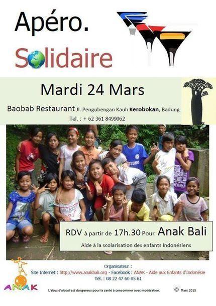 ANAK - Aide aux Enfants d'Indonésie: ÉVÉNEMENT a BALI | Scoop Indonesia | Scoop.it
