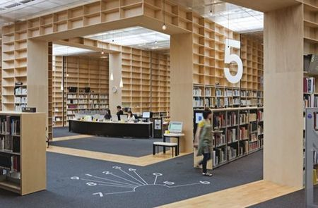 Musashino Art University Library — ARCHITECTURELOVER.COM   The Architecture of the City   Scoop.it