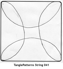 TanglePatterns String 041 | Artistic Line Designs-all free | Scoop.it