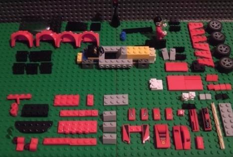 Stop-Motion-Knaller: Lego-Männchen baut Supersportwagen - Engadget Deutschland | ICT-Unterrichtsideen | Scoop.it