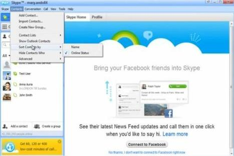 Sort Skype Contacts by Name and Online Status | Tech News N Updates | Scoop.it
