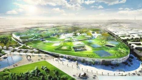 EuropaCity: A New Urban Center by Bjarke Ingels Group   green streets   Scoop.it
