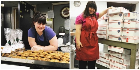 Rejected from job after job, this baker with Down syndrome opened her own shop instead. | enjoy yourself | Scoop.it
