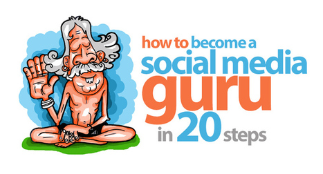 How to become a Social Media Guru in 20 Steps | #SeriouslySocial | Salesbot.com.au | Scoop.it