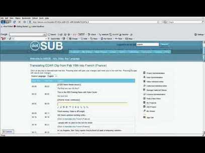 How to translate a video on dotSUB | Amara | Translator Tools | Scoop.it