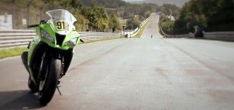 Tim Rhötig et sa Kawasaki Ninja ZX-10R sur la Nordschleife | Actu moto | Scoop.it