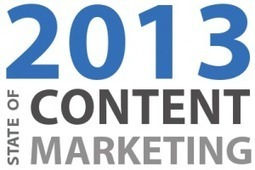 Marketers make content marketing main focus for 2013   brand-e   managing a brand   Scoop.it