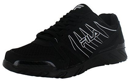 new style a2090 c828e Fila Spear 2 Men s Running Shoes Sneakers Coolmax Black Size 11