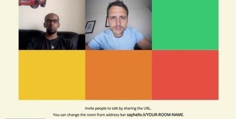 Sayhello. Créer un espace de vidéo-conférence sur le Web | Les outils du Web 2.0 | Scoop.it