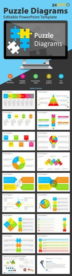 Puzzle Diagram PowerPoint Template | PowerPoint Presentation Tools and Resources | Scoop.it