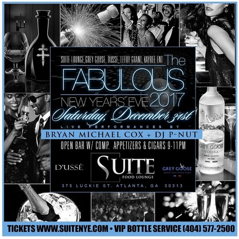 This New Years at the SuiteFoodLounge  #SuiteFoodLounge | GetAtMe | Scoop.it